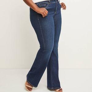 Lane bryant boot t3 technology bootcut jeans